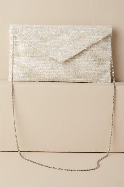 Moyna Ivory Lori Clutch | BHLDN