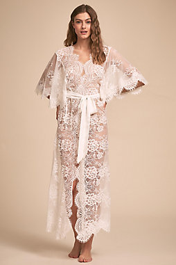 Kassiah Lace Robe