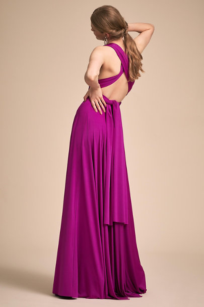 twobirds Arzelia Ginger Convertible Maxi Dress | BHLDN