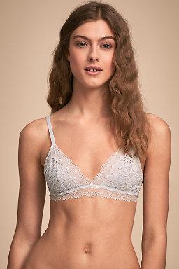 Bridal underwear bridal bra panty sets bhldn birdie bralette junglespirit Gallery