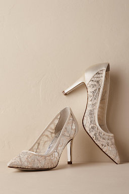 wedding shoes silver ivory wedding shoes bhldn