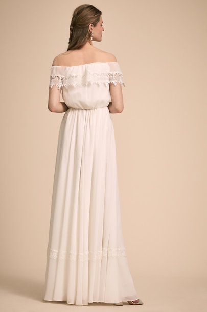 Watters Ivory Tati Dress | BHLDN