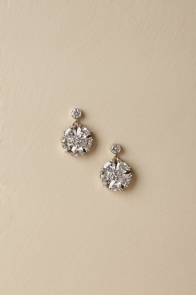 Beautiful Life Infinity Silver Altheda Earring | BHLDN