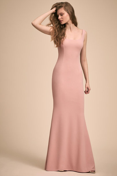 Katie May Dusty Rose Lucy Dress | BHLDN