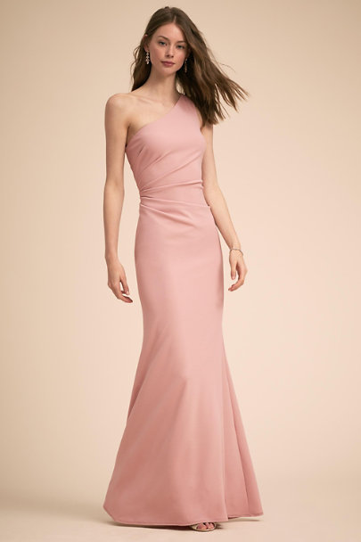 Katie May Dusty Rose Gwyneth Dress | BHLDN