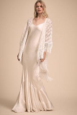 Wedding Dress Cover Ups & Wedding Boleros | BHLDN