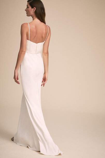 Badgley Mischka Ivory At Last Gown | BHLDN