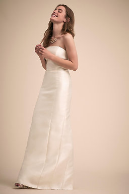Strapless Wedding Dresses & Gowns | BHLDN