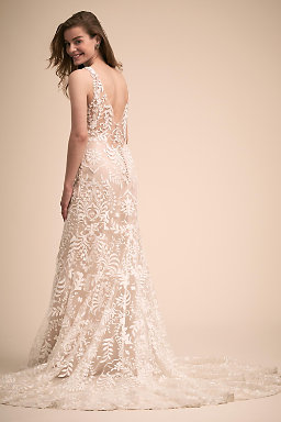 Backless wedding dresses low back wedding gowns bhldn lindley gown lindley gown junglespirit Gallery