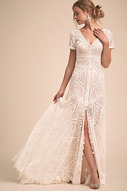 Watters wedding bridesmaid dresses bhldn b h l d n clements gown junglespirit Image collections