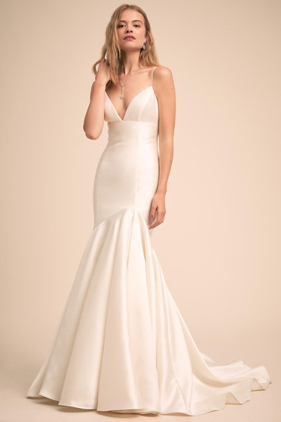 Watters Ivory Luminosity Gown | BHLDN