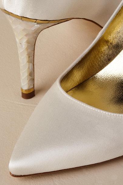 View larger image of Freya Rose Chelsea Ivory Heels