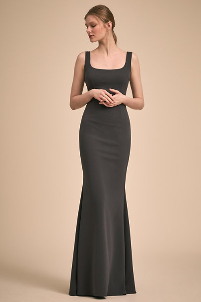 Katie May Charcoal Lucy Dress | BHLDN