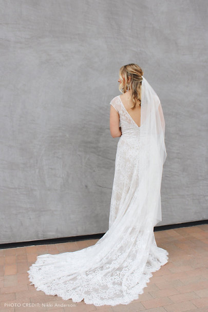 Theia Bridal Ivory Felicia Gown | BHLDN