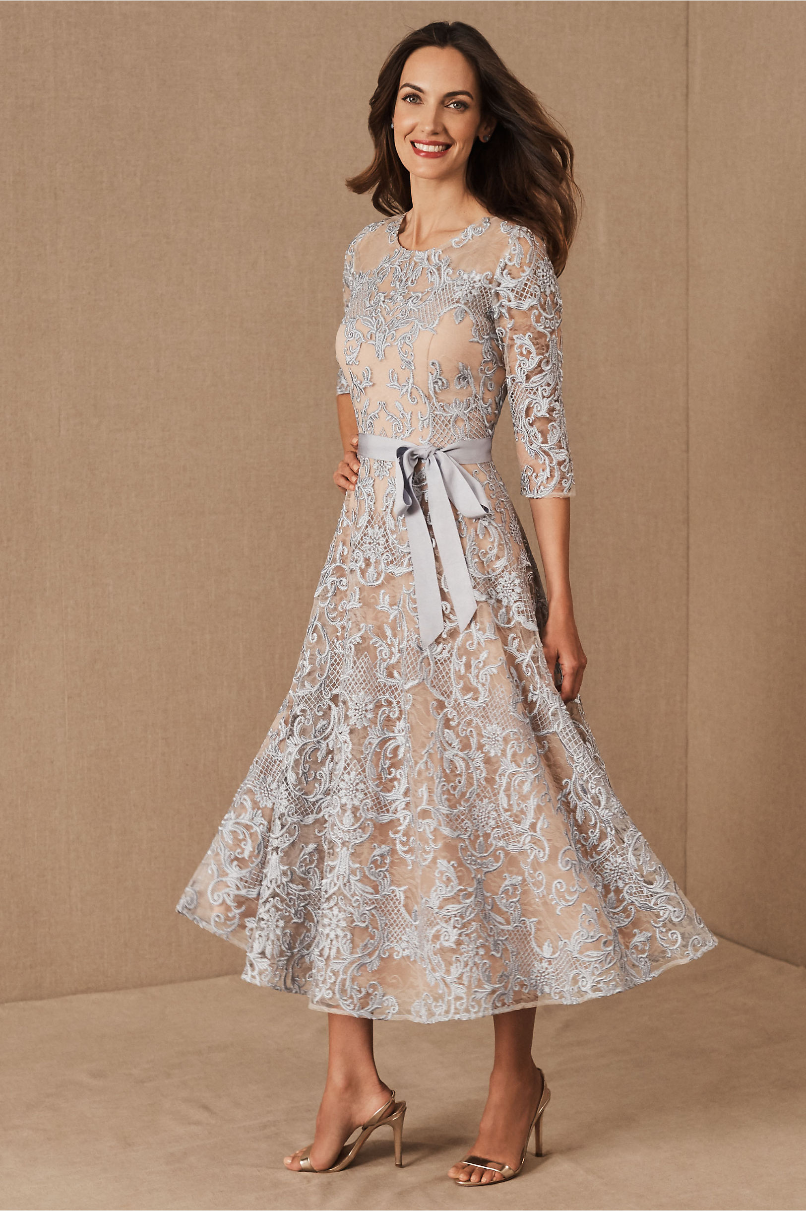 What Did Women Wear in the 1950s? 1950s Fashion Guide BHLDN Linden Dress $280.00 AT vintagedancer.com