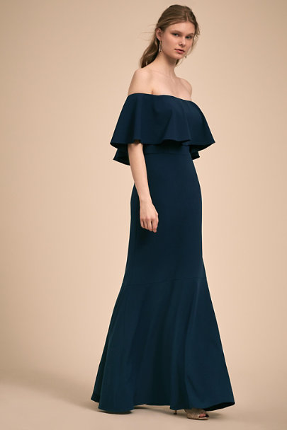 BHLDN Navy Dara Dress | BHLDN