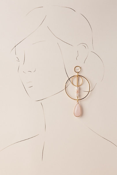 Gold Kirby Hoop Earrings | BHLDN