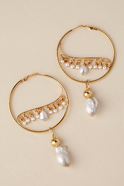 Ziva Hoop Earrings