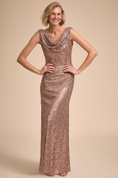 BHLDN Rose Gold Francia Dress | BHLDN