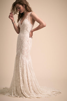 Vintage lace wedding dresses lace wedding gowns bhldn cecily gown cecily gown junglespirit Choice Image