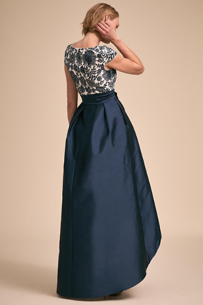 Adrianna Papell Midnight/Ivory Mariana Dress | BHLDN