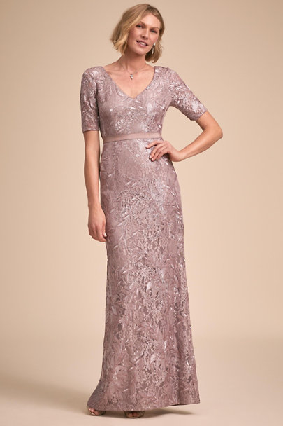 Adrianna Papell Smoke/Amethyst Levi Dress | BHLDN