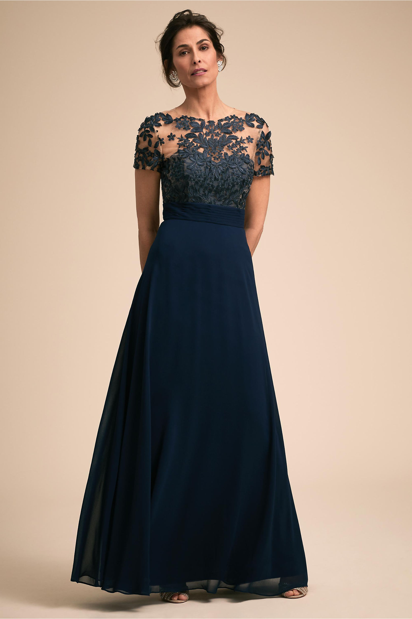 Guthrie Dress Navy in Occasion Dresses | BHLDN