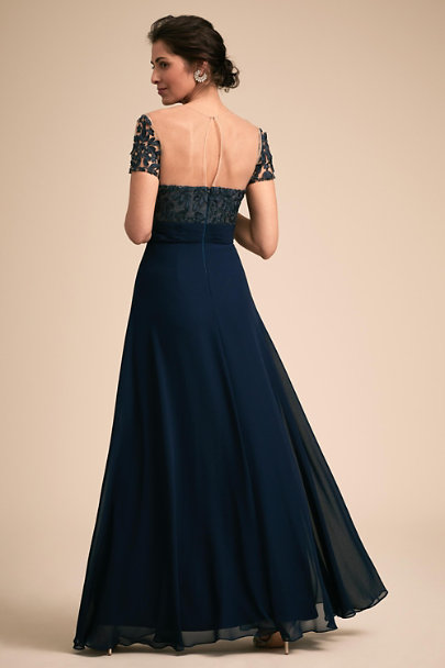JS Collection Navy Guthrie Dress | BHLDN
