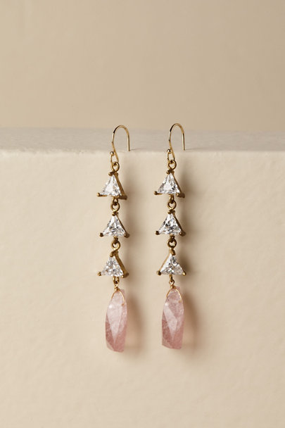 Serefina Gold Kaela Drop Earrings | BHLDN