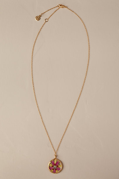 Catherine Weitzman Gold Ailani Necklace | BHLDN