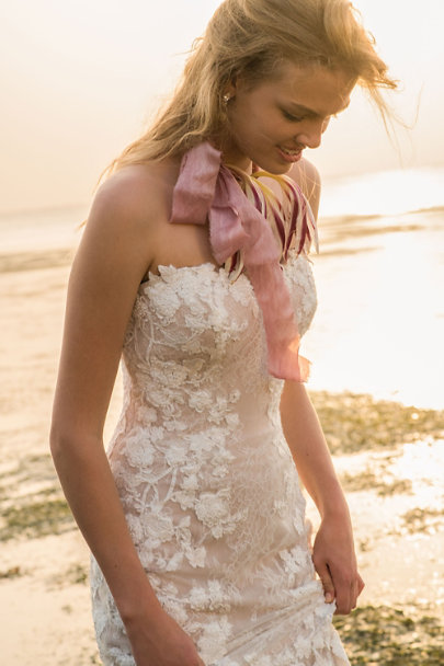 Feathers and Stone Rose/Lavender Shades of Rose & Lavender Ribbon Bundle | BHLDN