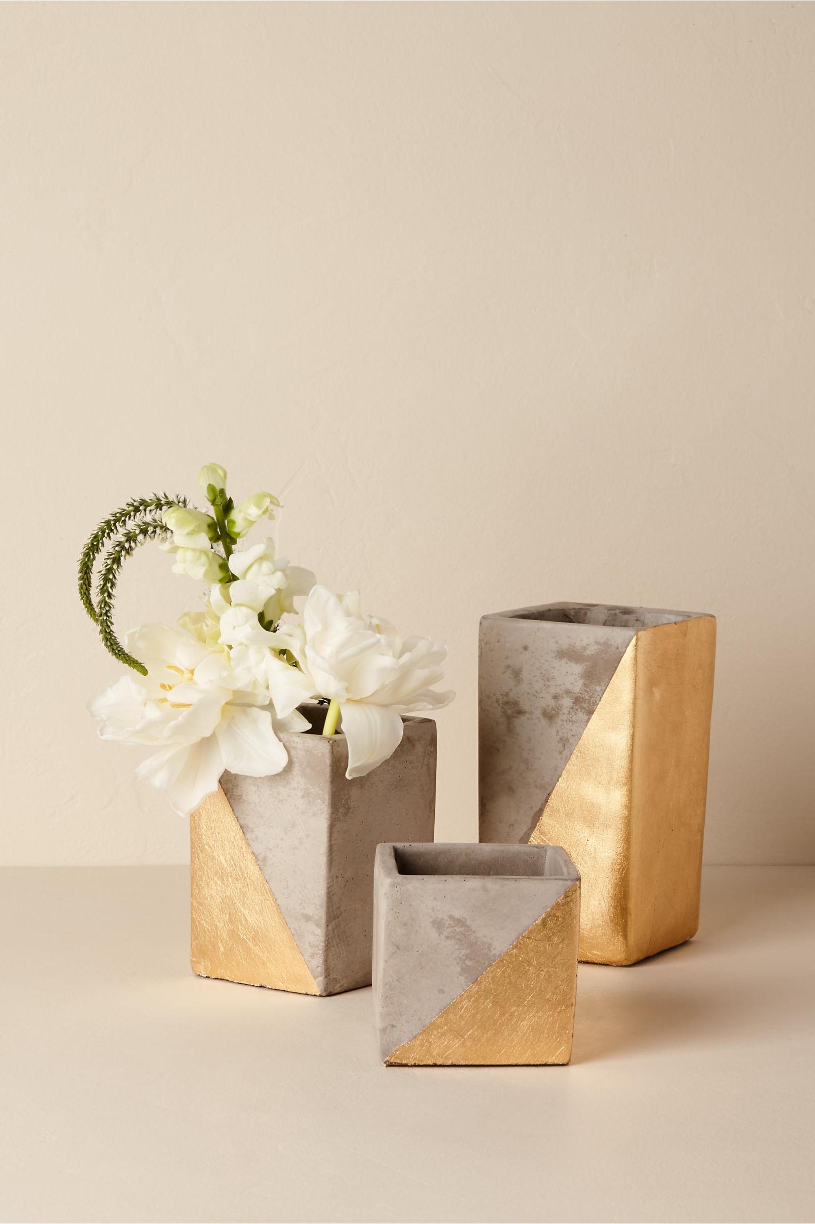 Paradox Vase Grey in New & Noteworthy | BHLDN