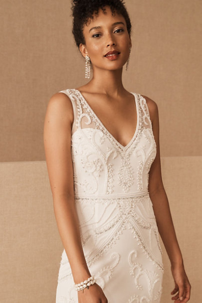 BHLDN Ivory Sorrento Dress | BHLDN