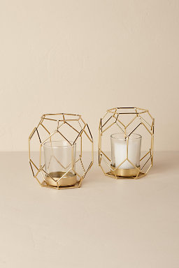 Gold Deco Tealight Holder