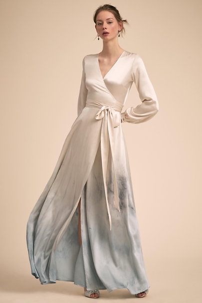Kamperett Blue Madrigal Gown | BHLDN