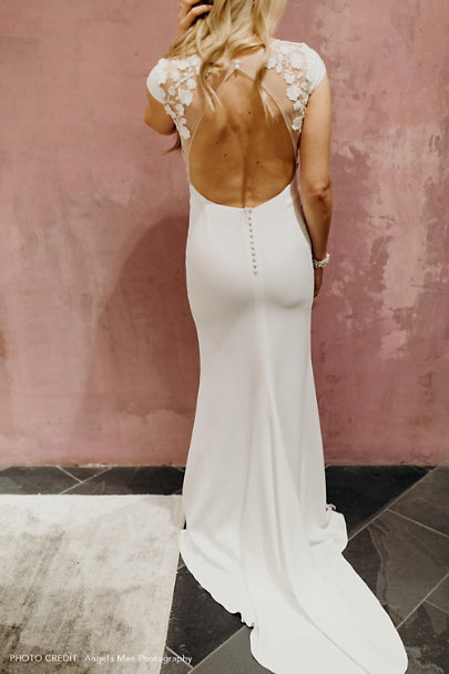 Rime Arodaky Ivory Jimmy Gown | BHLDN