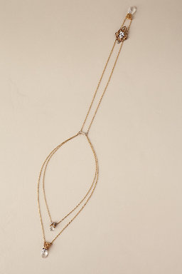 Shona Back Drape Necklace