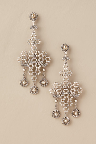 Paris by Debra Moreland Gold Hestia Chandelier Earrings | BHLDN