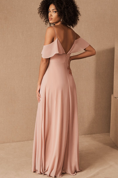 Jenny Yoo Whipped Apricot Mila Dress | BHLDN