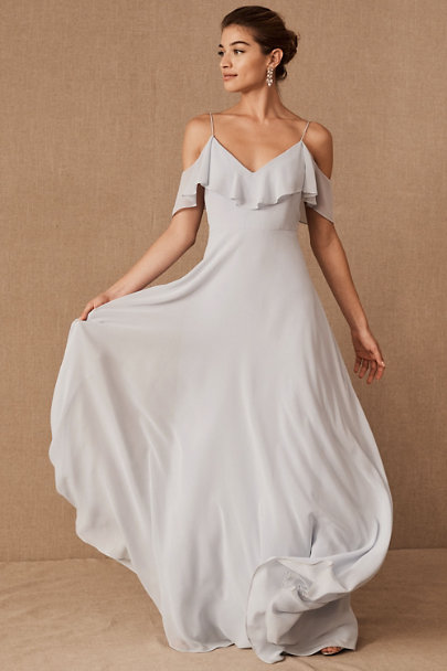 Jenny Yoo Whisper Blue Mila Dress | BHLDN