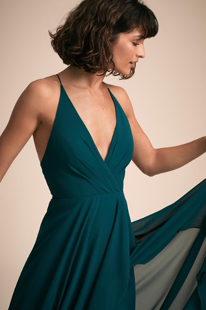 Jenny Yoo Caspian Sea Farrah Dress | BHLDN