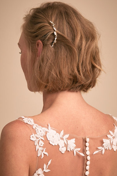 A.B. Ellie Gold Ina Hair Pin | BHLDN