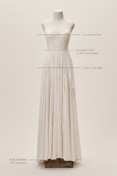 BHLDN Ivory Dreams Of You Gown | BHLDN