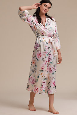 Lilith Matte Long Robe