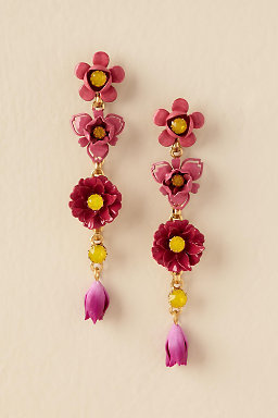 Pentas Drop Earrings