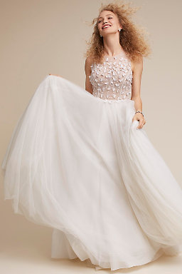 A line wedding dresses bhldn floating on air gown junglespirit Images