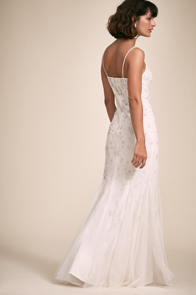 Adrianna Papell Ivory Kinney Dress | BHLDN