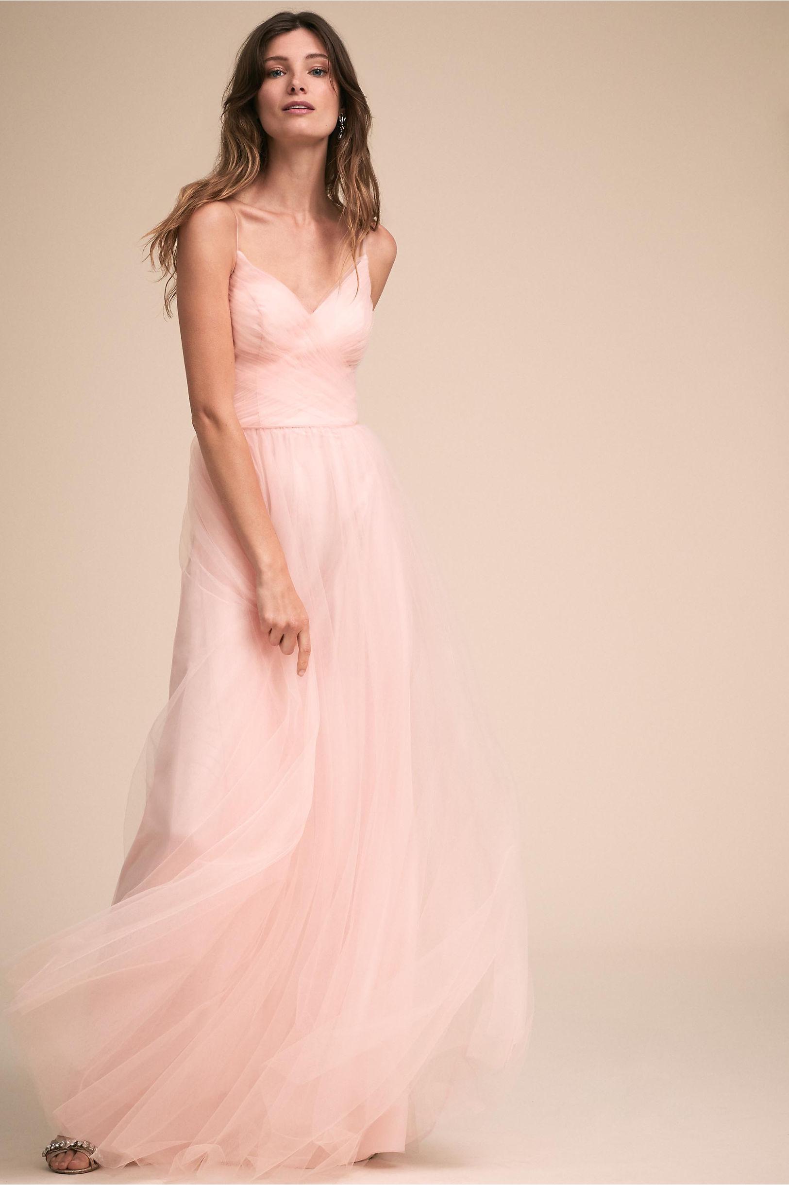 Camden Dress Blush in New | BHLDN