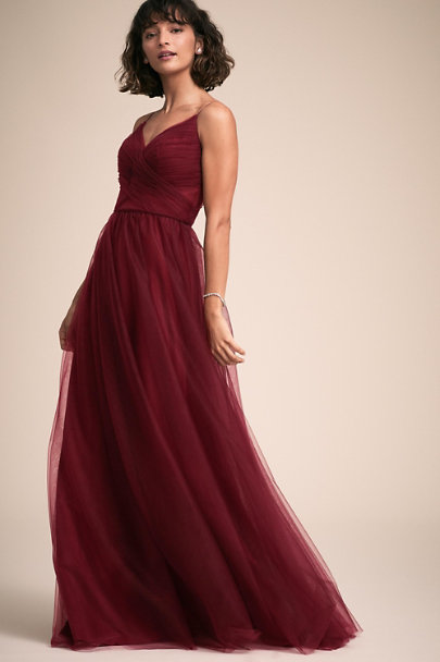 BHLDN Bordeaux Camden Dress | BHLDN