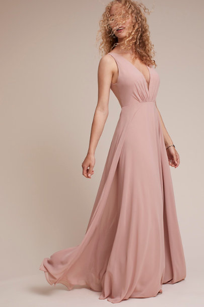 Jenny Yoo Whipped Apricot Ryan Dress | BHLDN